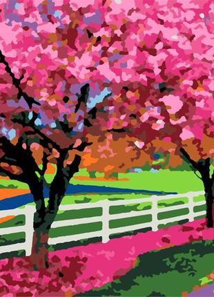 """Картина по номерам rosa """"весенний день"""" 35х45 см n00013172"""