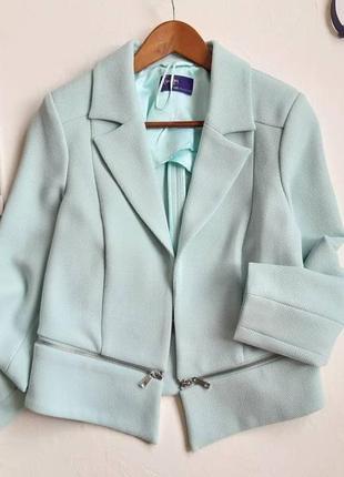 Шикарнейший мятный пиджак