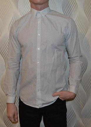 Рубашка selected homme slim fit