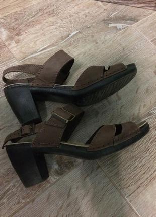 Мягкие босоножки туфли кожа4