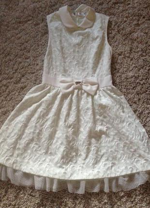 Платье белое behcetti