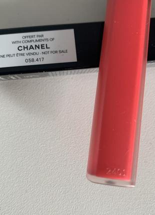 Chanel rouge coco lip blush3 фото
