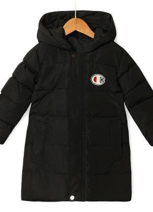 Удлиненная деми куртка унисекс