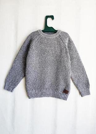 Детский хлопковый свитер next