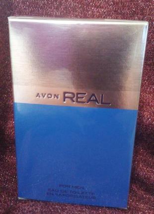 Продам мужской avon real 75мл - 170 грн