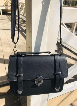 Женская сумка, белая  эко-кожа 🇹🇷