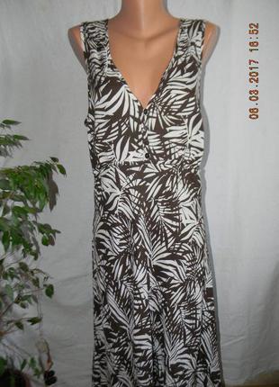 Тонкое легкое платье большого размера bm