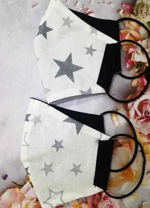 "Легкая многоразовая маска ""звезды"""