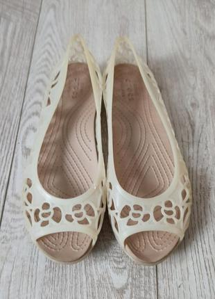 Балетки, босоножки crocs isabella (оригинал)