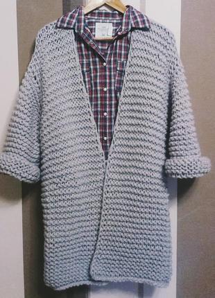 вязаное пальто ручная работа цена 470 грн 641262 купить по