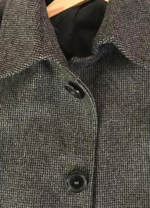 Пальто чоловіче темно сірого кольору ідеальний стан 🔥sale 🔥