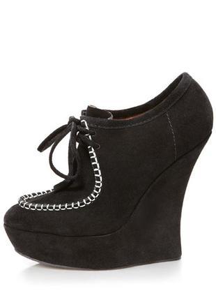 L.a.m.b. gwen stefani nate suede wallabee ankle leather туфли ботинки оригинал