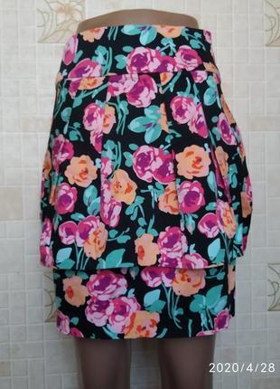 Юбка в цветочный принт new look 273