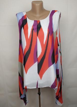 Блуза новая стильная большой размер marks&spencer uk 22/50/4xl