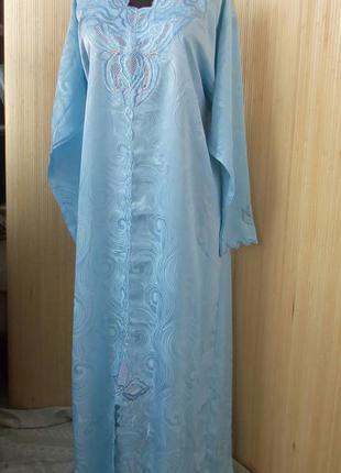 Ажурное восточное платье m-l