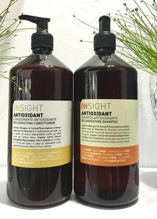 Комплекс тонізуючий nsight antioxidant rejuvenating, маска, кондиціонер, шампуь