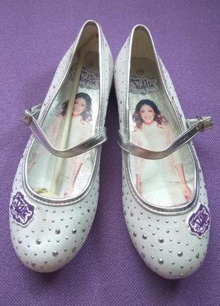 Туфли туфлі балетки  disney 35 22,8см для девочки дівчинки