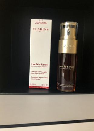Clarins двойная сыворотка интенсивного действия double serum