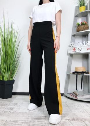 Новые брюки плаццо высокая посадка клеш terranova