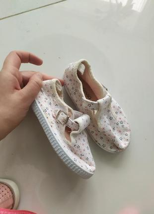 Тапочки балетки для девочки сандали