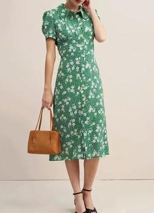 Тренд 2020. летнее платье в стиле ретро.
