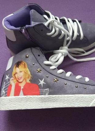Кроссовки кросівки хайтопы  disney для девочки дівчинки