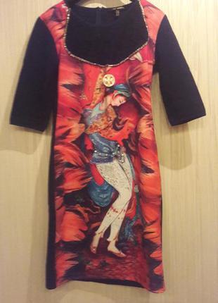 Шикарное индийское платье