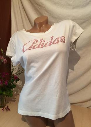 Белая базовая футболка / майка