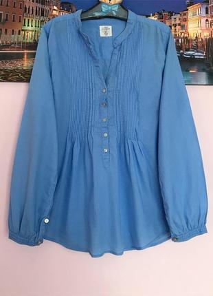 Натуральная нежная блуза