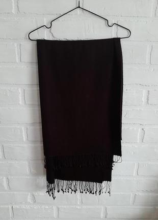 Мягчайший  шелковый шарф с кашемиром passigatti