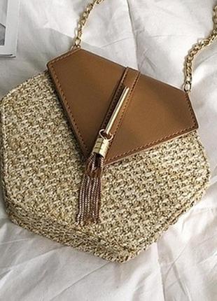 Солом'яна сумочка