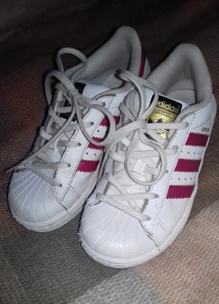 Кроссовки для девочки adidas superstar оригинал