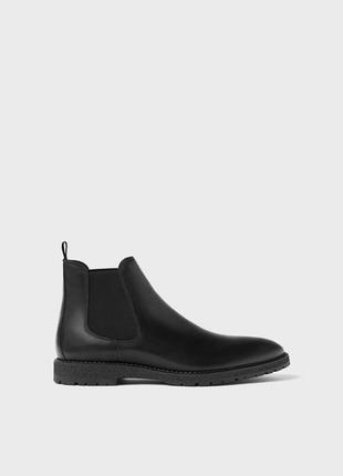 Мужские демисезонные ботинки zara.