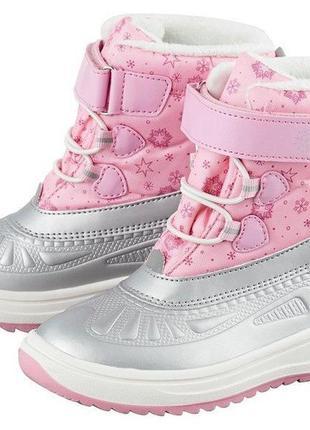 Сапоги/ботинки детские зимние lupilu
