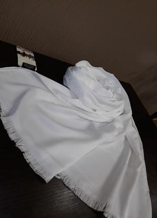 ❤двухсторонний шелковистый турецкий шарф шаль палантин в расцветках