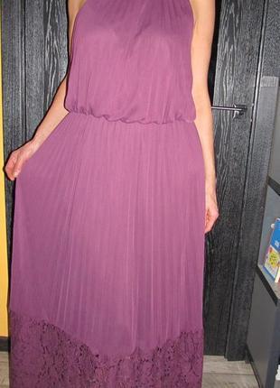 Красивенное макси платье от simply be р.uk 18
