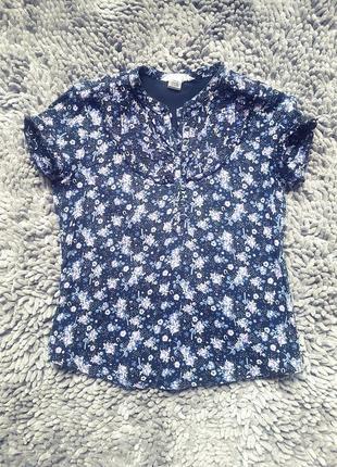 Летняя блуза 8-9лет