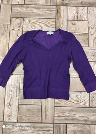 Пуловер фиолетовый