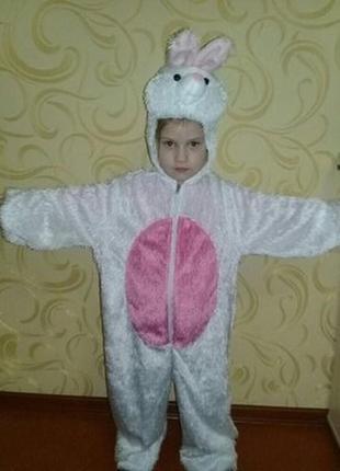 Карнавальный костюм зайчик 4-6 лет