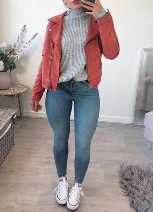 Джинсы по фигуре в обтяжку с замочками светлые скинни світлі джинси скіні по фігурі|обмен
