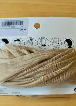 Резинка для волос/бандана/снуд/повязка для волос c&a