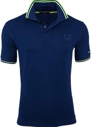 Мужская тенниска футболка поло ferre оригинал xl - 52 100 процентный хлопок