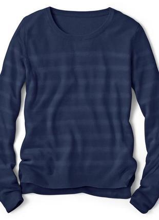 Легкий свитер пуловер подойдет на высокий рост tcm tchibo германия евро 36-385 фото