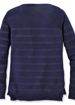 Легкий свитер пуловер подойдет на высокий рост tcm tchibo германия евро 36-386 фото