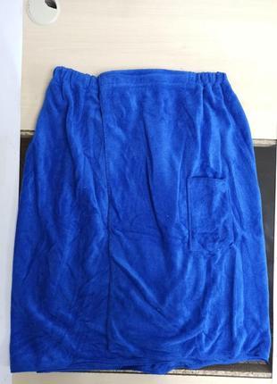 Полотенце для бани с карманом мужское