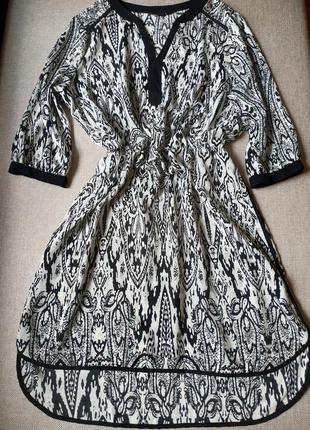 Лёгкое шёлковое платье