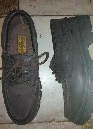 Туфли  нубук macadam