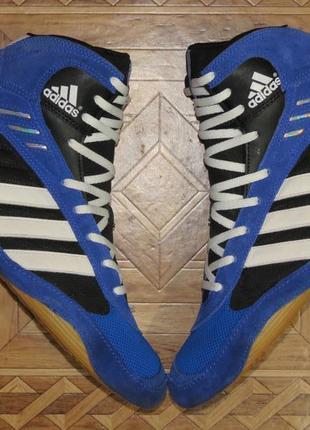 Кроссовки борцовки боксерки adidas pretereo(оригинал)р.44
