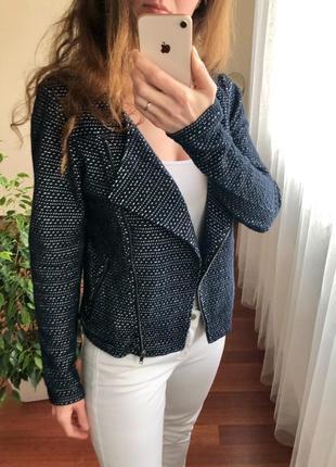 Стильная косуха куртка из хлопка трикотажная