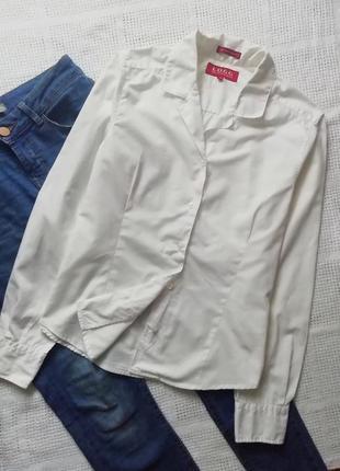 Шикарная белая рубашка, сорочка, блуза, блузка, оверсайз, бойфренд